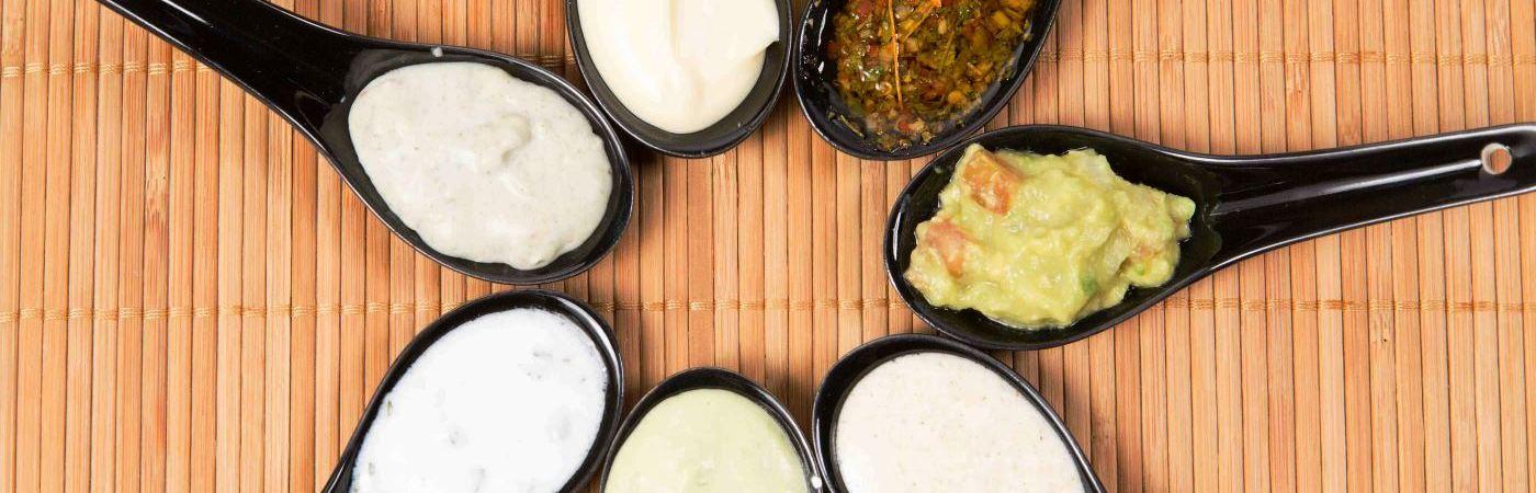 Salsas bajas en carbohidratos