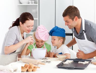 Recetas sin carbohidratos en familia.