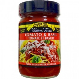 Salsa de tomate con Albahaca de Walden Farms