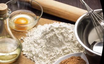 Ingredientes sustitutivos para recetas bajas en carbohidratos
