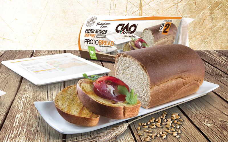 Pan bajo en carbohidratos Ciao Carb Protobread